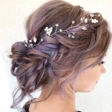 Pin by Twila Schroeder on Hairstyles | Short hair updo, Short wedding hair,  Updo with headband