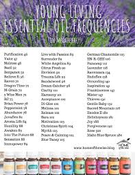 Young Living Essential Oils Frequency Chart Melanie Paramore Home Of The Wise A Place To Learn