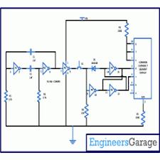 coin toss circuit diagram using seven segment display coin toss circuit diagram
