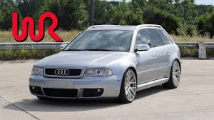 2001 Audi B5 RS4 Avant (European Import) - WR TV POV Review - YouTube