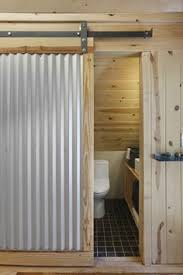 Small Picture Corrugated Metal Wall Design bathroom interijer Pinterest