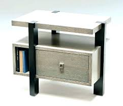 small tall narrow nightstand metal night stand bedside table tables