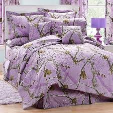 ap lavender camouflage comforter set twin size