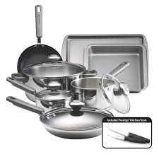 Non Stainless Steel Appliances Farberware Complements Dishwasher Safe Stainless Steel 13 Piece