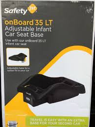 new safety 1st onboard 35 lt adjustable infant car seat base black ic289blk 884392610449