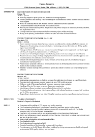 Product Service Engineer Resume Samples Velvet Jobs