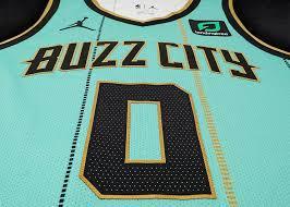 Mascot design logo design graphic design charlotte hornets logo vespa logo team logo sports jersey design art diy cool logo. Hornets Go With Mint Themed Uniform For Latest City Edition Uniform Authority