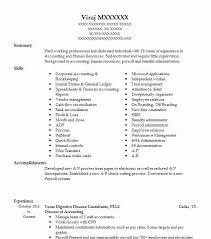 Payroll Clerk Resume Simple Director Of Accounting Resume Example Texas Digestive Disease