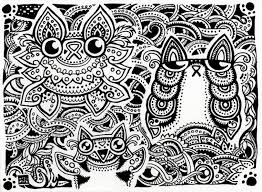 Small Picture Hard Cat Coloring Pages Coloring Coloring Pages