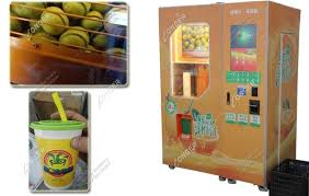 Juice Vending Machine Price Cool Automated Squeezed Fresh Orange Juice Vending Machine Manufacturer