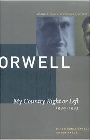com my country right or left the collected com 2 my country right or left 1940 1943 the collected essays journalism letters of george orwell collected essays journalism and letters of