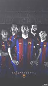 a wallpaper of fc barcelona players in the new kit for the 2016 2017 season