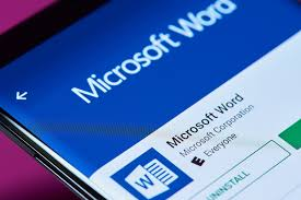 Mirco Soft Word Microsoft Word Has Now Been Installed Over One Billion Times