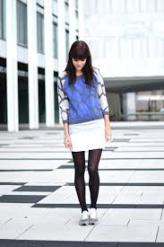 new balance jumper. outfit giraffe print blue jumper with grey new balance sneakers - adorable u