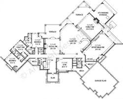 kettle creek ranch rustic home plan luxury home blueprints How To Draw A House Plan In Word kettle creek ranch house plan mountain cottage floor house plan how to draw a floorplan in word