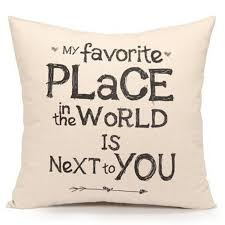 Pillow Quotes Interesting Animal Words Quotes Pillow Case Vintage Flower Cushion Cover Letter