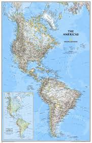 national geographic maps the americas classic wall map about this picture 1 of 1