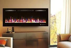 recessed wall mounted electric fireplace details about new black built in recessed wall mounted electric fireplace
