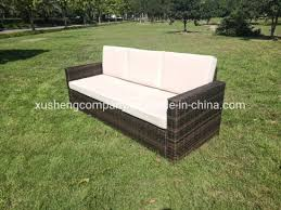 outdoor wicker sofa with ottoman wicker