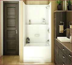 one piece bath shower unit one piece bathtub shower combo incredible and units home design ideas