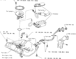 nissan nx fuse and relay panel cover diagram fixya 7 exploded view of the fuel tank components 1995 96 sentra