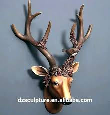deer head on wall stag head wall decoration deer head on wall animal head wall art