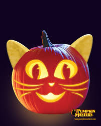 Cool Pumpkin Faces Whiskers Pattern From The Pumpkin Masters Creature Feature Kit
