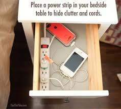 diy makeup room ideas organizer storage and decorating end table with power strip live edge