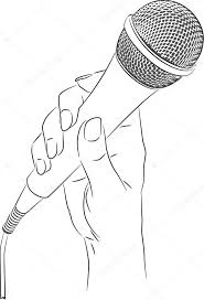 Woman Microphone Stock Vectors Royalty Free Woman Microphone