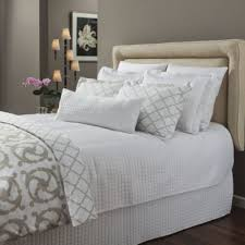 Buy White Bed Quilt Coverlet from Bed Bath & Beyond & Downtown Company Urban Quilted Cotton Queen Coverlet in White Adamdwight.com