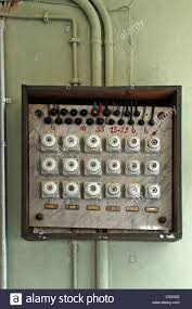 old fuses fuse box stock photos & old fuses fuse box stock images old fuse box parts old fuse box from 1930, former factory of dietz & pfriem, now museum of