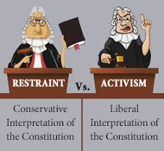 there is no longer any point defending the constitution get real  judicial activism