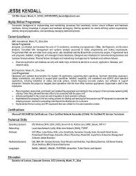 Programmer Resume Template Computer Programmer Resume Example Templates
