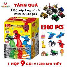 ĐỒ chơi trẻ em XẾP HÌNH LEGO cao cấp cho bé trai và gái. Chất liệu nhựa ABS  cao cấp 1200 chi tiết . Giúp bé phát triển trí tuệ thông minh toàn diện