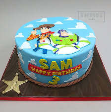 Toy Story Flat Fondant Birthday Cake Party Ideas For Kids In