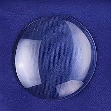Rosebeading 50mm <b>Round</b> Flat Back Crystal <b>Clear Glass</b> ...