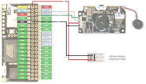 iot security camera hackster io diagram