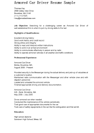 Bus Driver Cover Letter School Bus Examples
