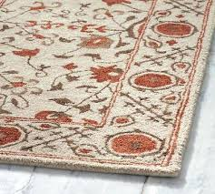 pottery barn adeline rug pottery barn rug neutral fl tufted wool new authentic pottery barn adeline pottery barn adeline rug