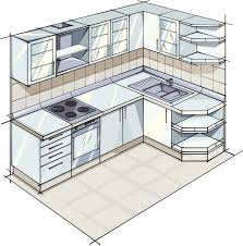 Small Kitchen Layouts And Design 5 Kitchen Layouts Using L Shaped Designs