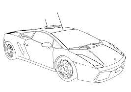 Lamborghini Coloring Pages Car Coloring Pages At Free Printable