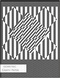 Buy Isometric Graph Paper 3d Triangular Grid Paper Notebook