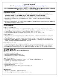 IT Redhat Linux Resume Inspiration Resume Preface