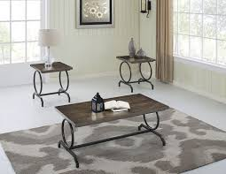 coffee table set dark oak black image zoomed image