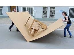 clearly inspired by pop up books designers liddy scheffknecht and armin b wagner have created a 100 portable office complete with chair and desk cardboard office