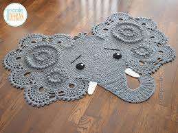 Josefina and Jeffery Elephant Rug PDF Crochet Pattern IraRott Inc Awesome Crochet Patterns