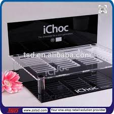 Table Top Product Display Stands Tsda100 Custom Supermarket Countertop Acrylic Chocolate Display 42