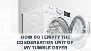 Hotpoint Condenser Tumble Dryer Empty Water Light On How Do I Empty The Condensation Unit Of My Tumble Dryer Cleaning Care