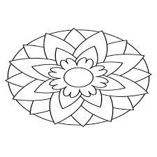 Bovenste Deel Kleurplaten Bloemen Mandala Krijg Duizenden