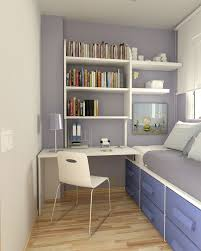 Small Desk For Small Bedroom Bright Small Room For An Adolescent Would Need A Bigger Bed